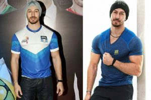 Tiger Shroff camouflages his 'Baaghi 2' look with a Beanie!