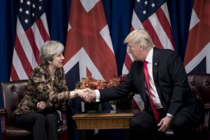 Trump, Theresa May ask nations to increase pressure on N Korea