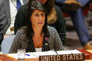 Nikki Haley condemns rumours about her as 'highly offensive, disgusting'