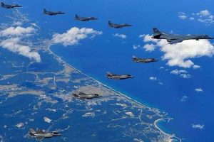 South Korea, US conduct air defence drills