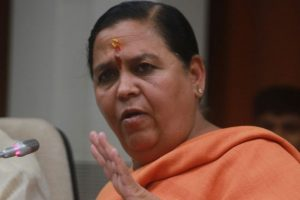 I'm not Lord Ram, can't purify Dalits, says BJP MP Uma Bharti