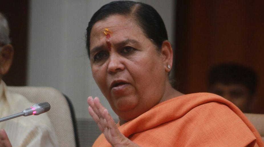 Uma Bharti, BJP MP