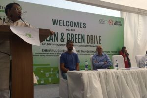 Clean & Green drive launched at Huda City Centre Metro Station