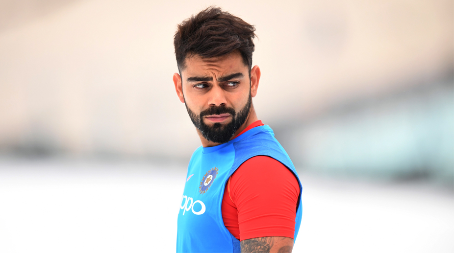 Ipl 2018 Virat Kohli Flaunts His New Hairstyle Ahead Of Cash Rich