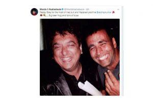 Warda Nadiadwala shares a throwback picture to mark Akshay Kumar's 50th birthday