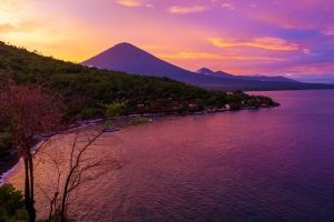 The roar of the mountain in Mt Agung