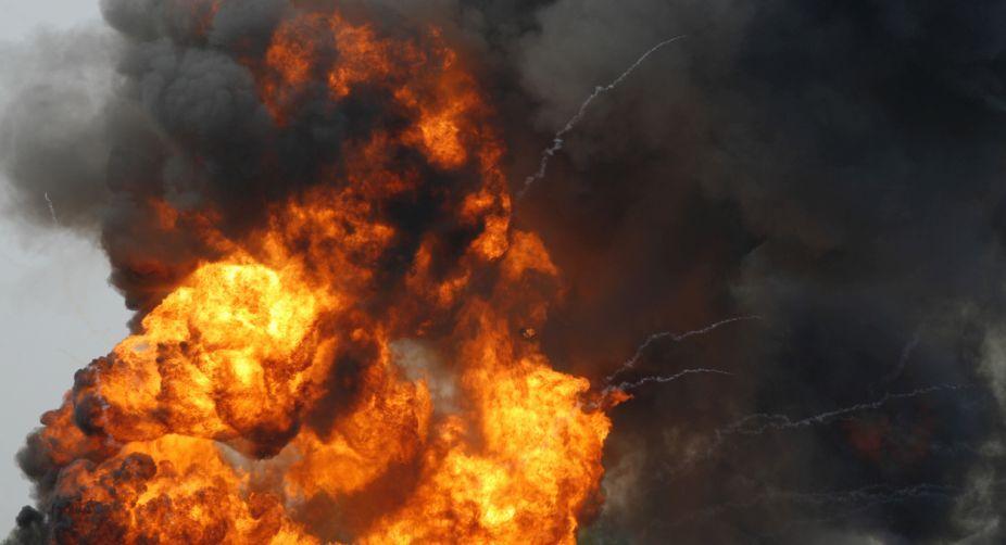 China east, massive blast, injured, accident, explosion