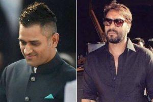 Dhoni, Ajay Devgn urge people to overcome fear