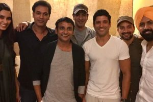 B-town galore at the screening of Lucknow Central
