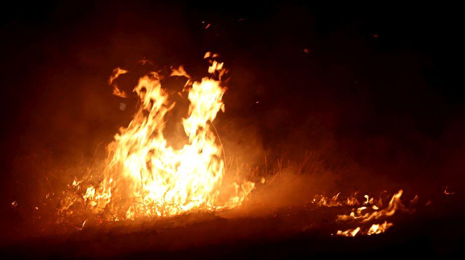 Nagpur fire