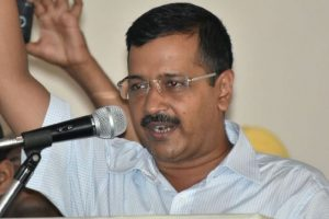 Kejriwal lays foundation stone of sewage line project to save Yamuna