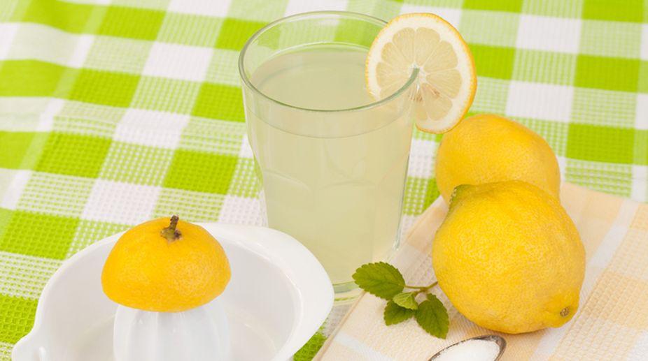 Freshly made lemonade