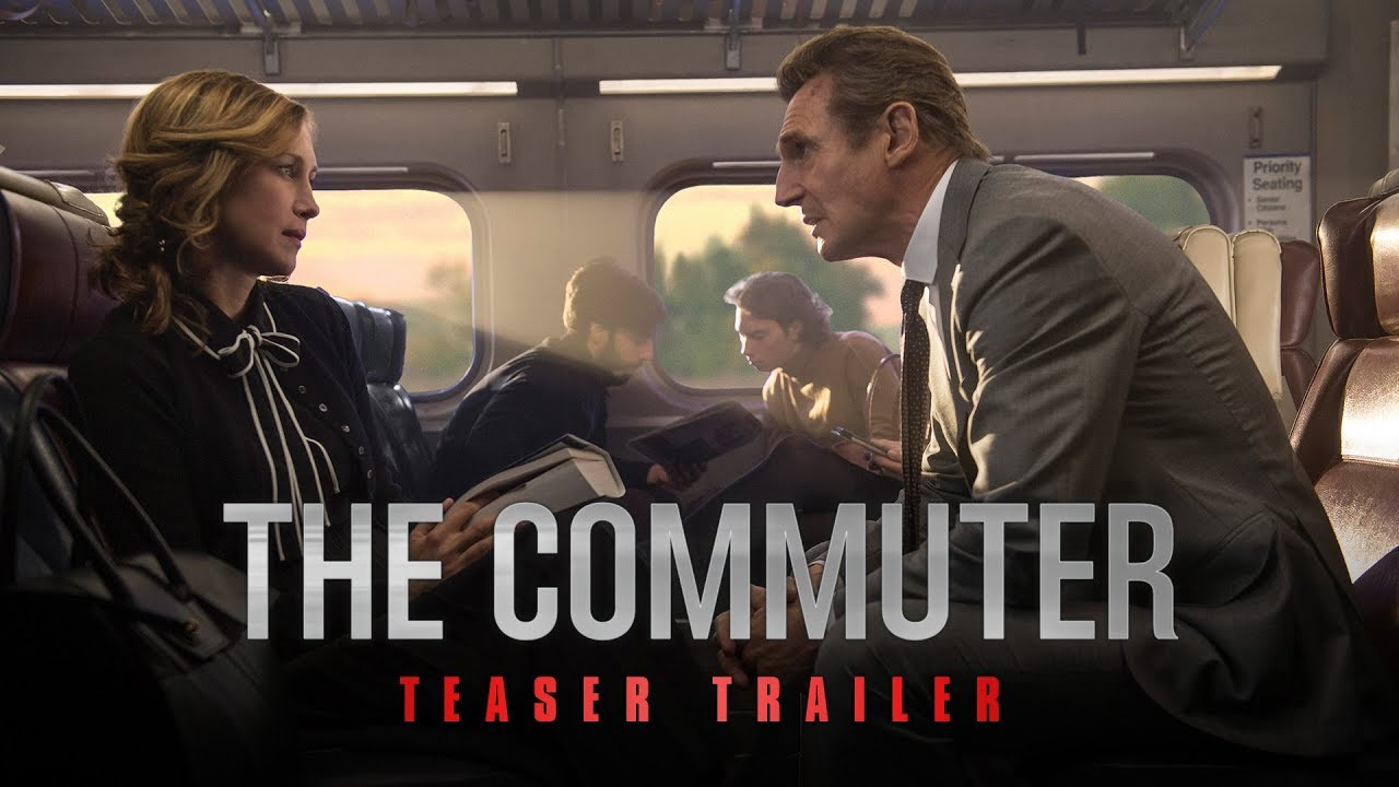 The Commuter Official Trailer