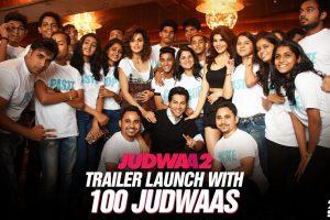 Judwaa 2 Trailer Launch with 100 Judwaas!