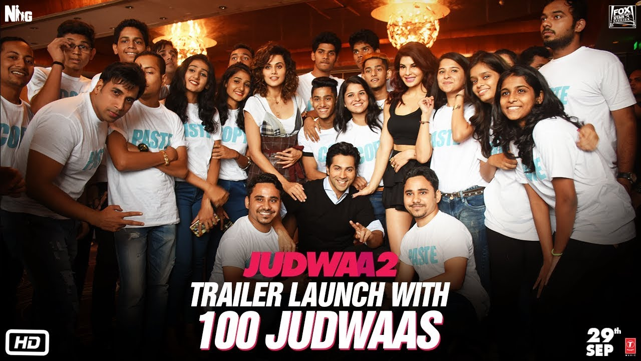 Judwaa 2 Trailer Launch with 100 Judwaas!