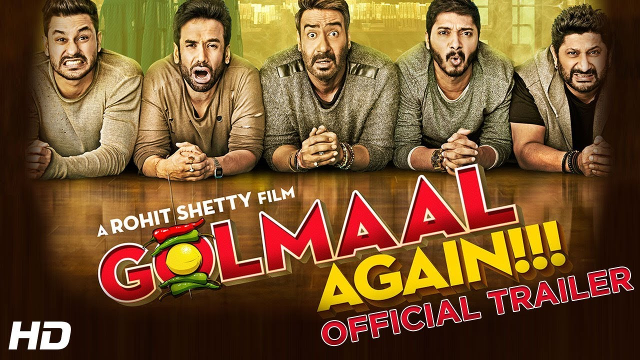 Golmaal Again | Official Trailer