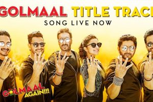 Golmaal Title Track starring Ajay Devgn, Parineeti, Arshad and Tusshar