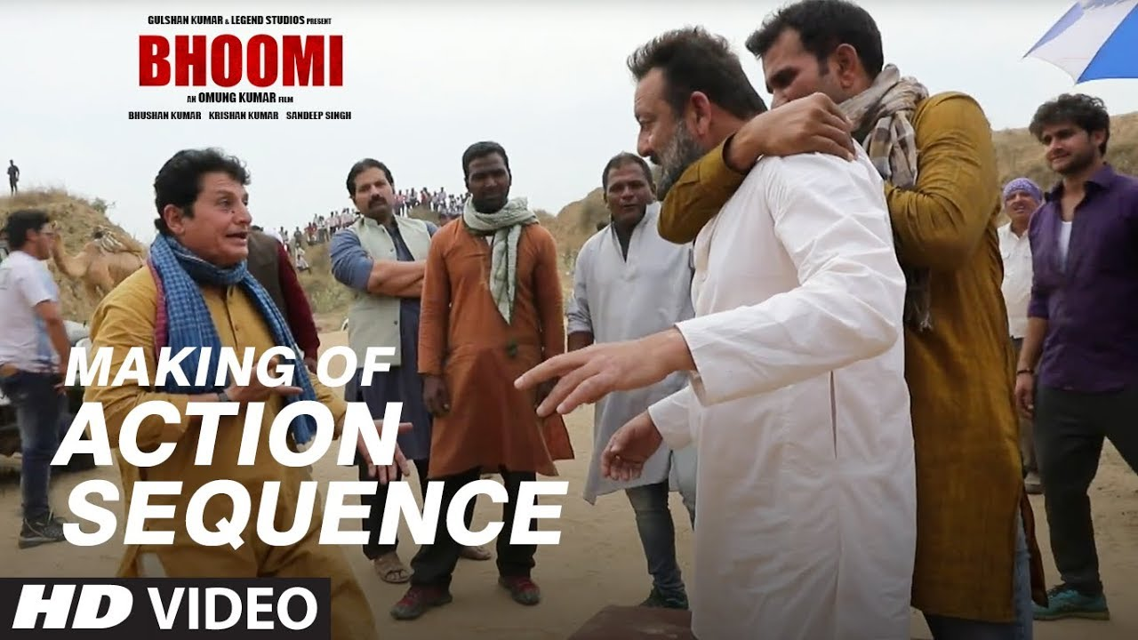 Making of Bhoomi: Action Sequence