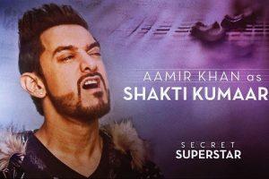 Aamir Khan as Shakti Kumaarr | Secret Superstar