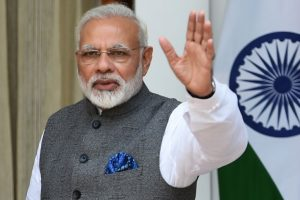 Modi prays for peace, prosperity on Mahalaya