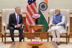 PM Modi, Mattis discuss enhanced Indo-US cooperation