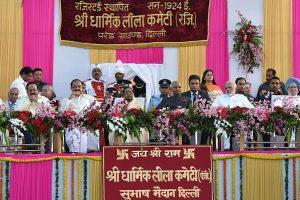 President, PM, VP, Manmohan attend Ramleela celebrations
