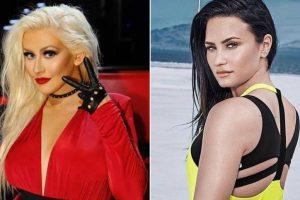 Christina Aguilera 'inspired' Demi Lovato!