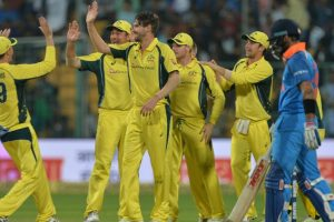 Australia beat India in 4th ODI