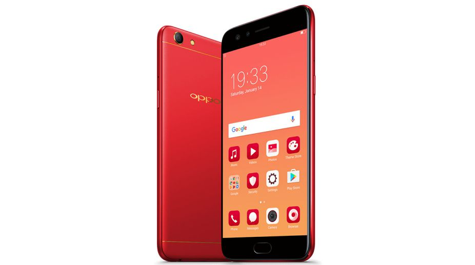 Oppo F3 Diwali Limited Edition 'Red' launched for Rs. 18,990