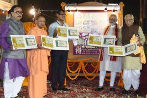 Modi releases postal stamp on Ramayana