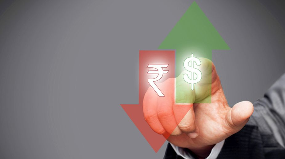 Rupee falls, US Dollar, BSE Sensex, American currency