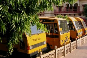 Child rights body asks police to ensure separate corridor for school buses