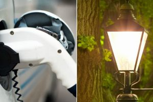 Smart roads could power street lamps, electric cars