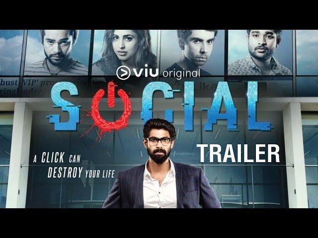 Social Trailer | Cyber Crime Digital Show | Rana Daggubati