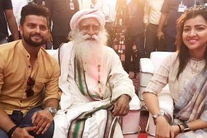 Suresh Raina wishes success for Sadhguru's initiative 'Rally For Rivers'