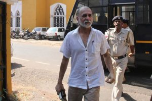 Journalist Tarun Tejpal charged for rape by Goa court, pleads not guilty