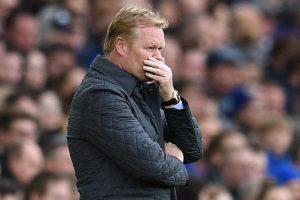 Everton sack coach Ronald Koeman after entering relegation