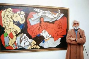 Five decades of friendship with M F Husain