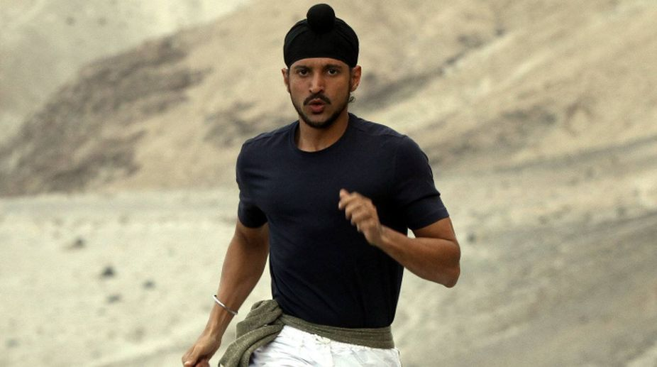 Farhan Akhtar as Milkha Singh in Bhaag Milkha Bhaag (Photo Credits: Facebook)