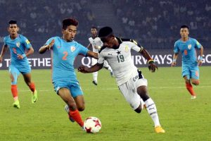 Ghana pulverize India 4-0 to stay alive in U-17 WC
