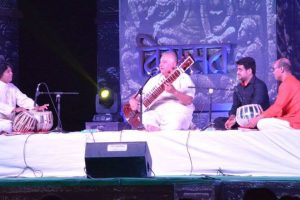 An evening of sitar and strokes