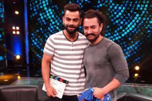 Aamir, Virat come together for a Diwali special