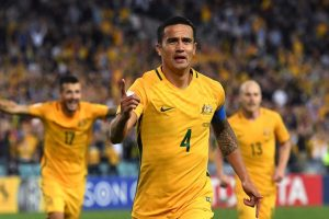 Australia beat 10-man Syria in World Cup play-off