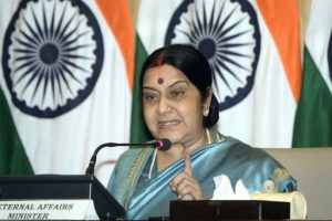 Sushma appeals for help to find deaf-mute girl's parents