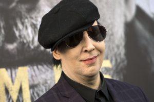 Mid-performance mishap,Marilyn Manson hospitalised
