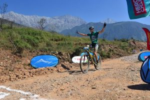 Spain's Adria Noguera wins MTB Himalaya mountain biking rally