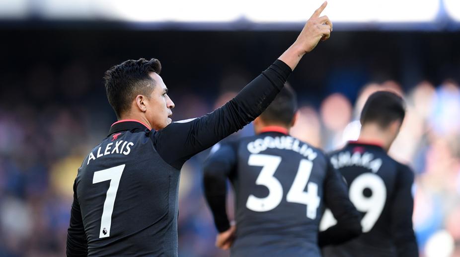 Alexis Sanchez, Premier League, Arsenal FC, Everton vs Arsenal