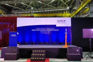 Alstom begins production of electric engines