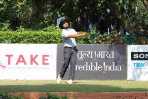 Patna's Aman Raj seizes round three lead at TAKE Open Golf Championship