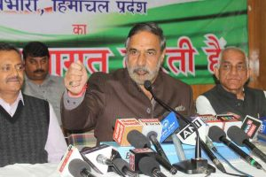 Failed economy, GST are real poll issues: Anand Sharma